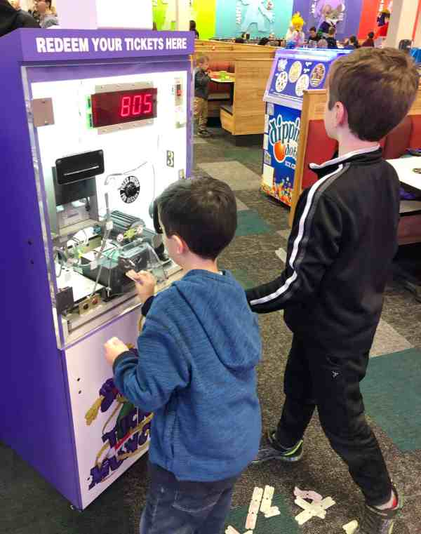 Chuck E. Cheese Grand Reopening Attractions #games #prizes #whattodo
