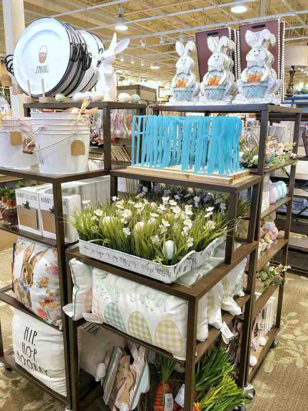 Spring Home Decor at Kirklands #farmhousedecor #springdecor #easterdecor