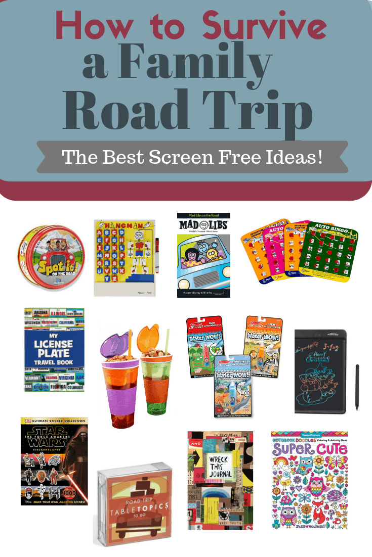 Fun Ideas for Kids on Road Trips #screenfree #games #family #travel
