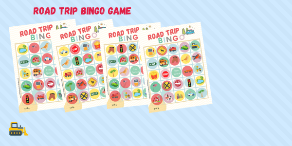 Printable Road Trip Bingo