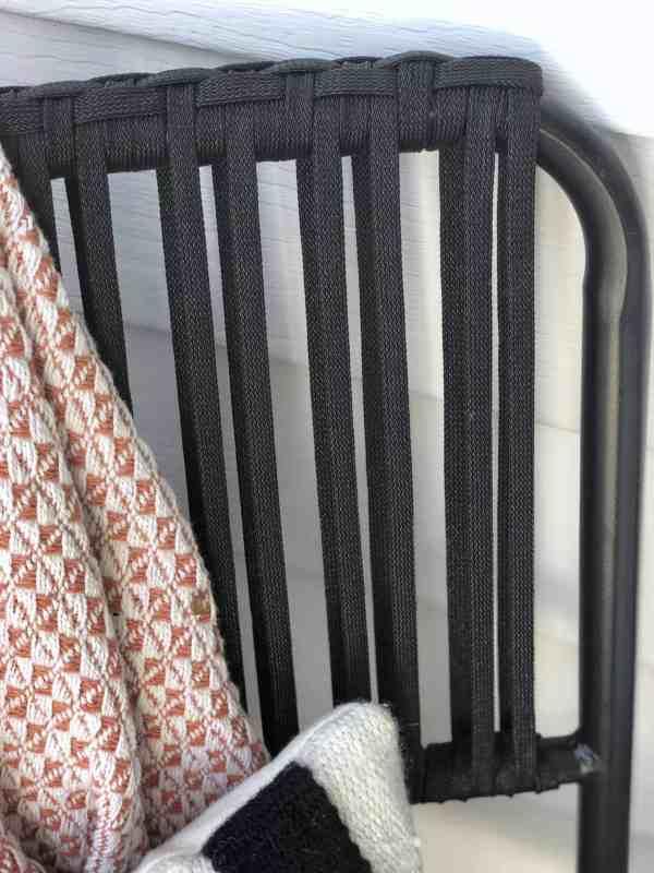 Small patio furniture ideas #porch #smallspaces #inexpensive