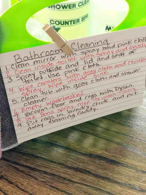 Cleaning caddies for kids #chores #summerchores #choreideas #fun #momhacks #parenting #lifeskills
