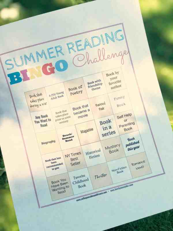 adult summer reading challenge 2019 #books #summerreads #moms