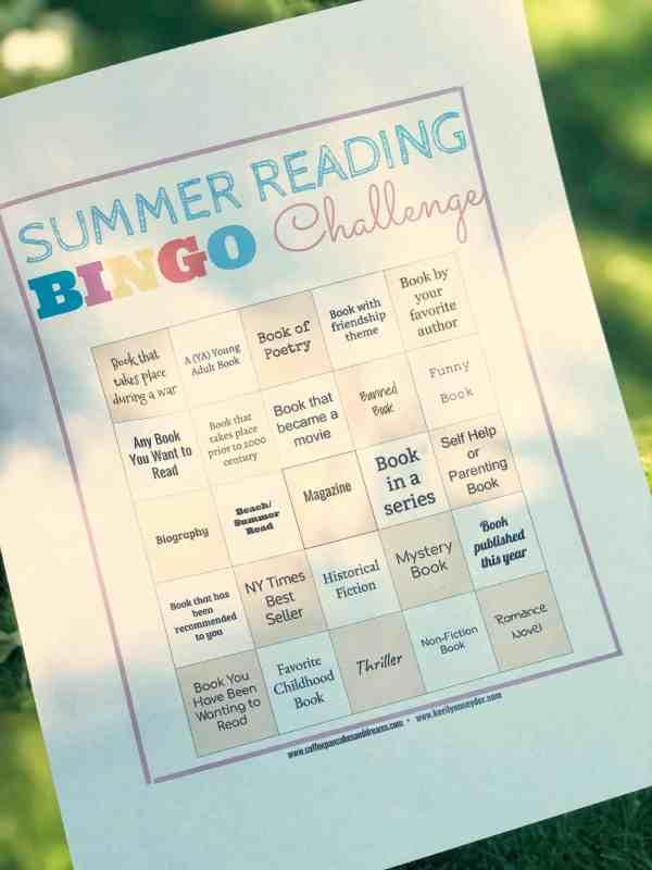 adult summer reading challenge 2019 #books #summerreads #moms