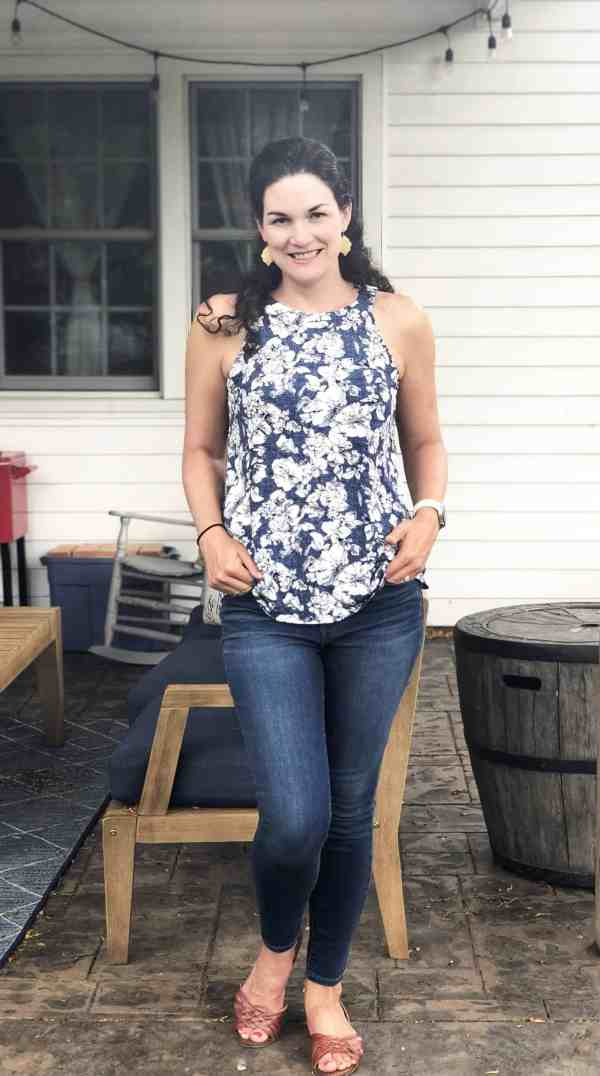 Stitch Fix Unboxing Summer Outfits #style #tanks #tops #mom