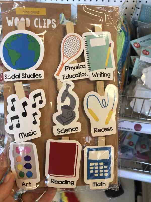 Back to School Decor at Target #dollarspot #fall #kids #teacher