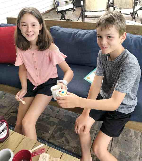 Kids Night In Box Homemade Ice Cream
