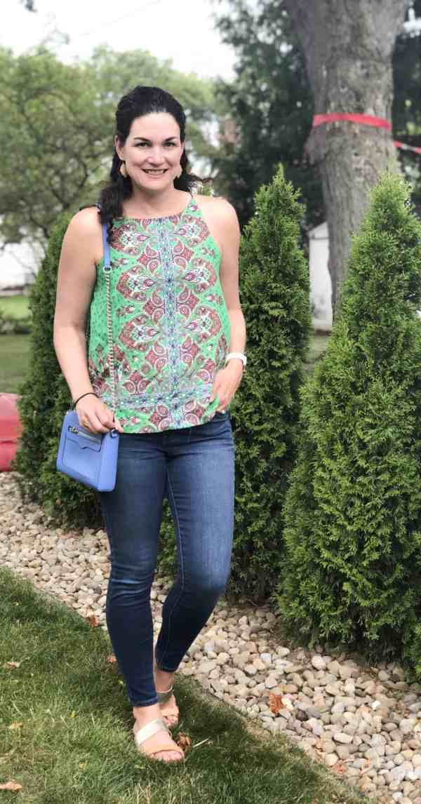 Stitch Fix Style Summer #unboxing #tanks #jeans