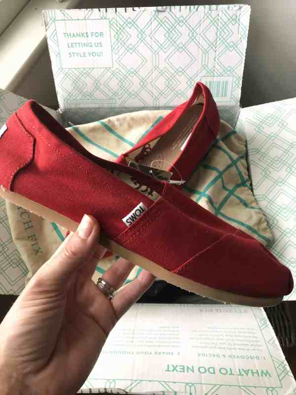 Stitch Fix Summer 2019 Review #unboxing #style #shoes #toms