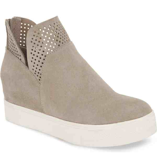 Fall casual shoe #style #bootie #sneaker