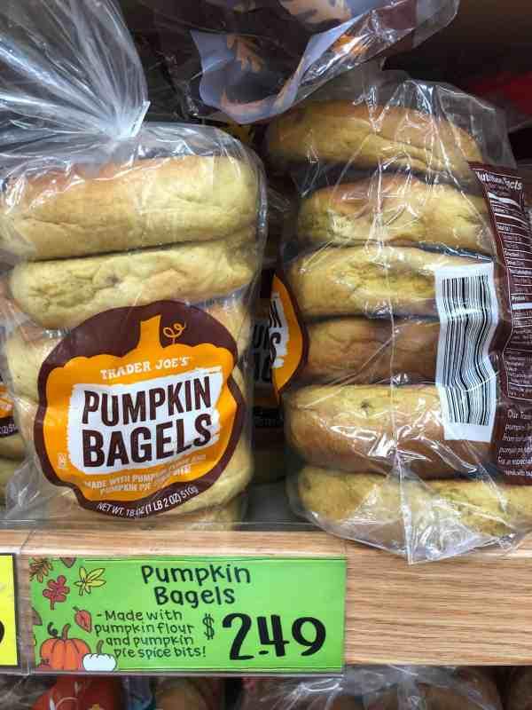Fall Breakfast Favorites TRader Joes #shoppinglist #printable #pumpkin