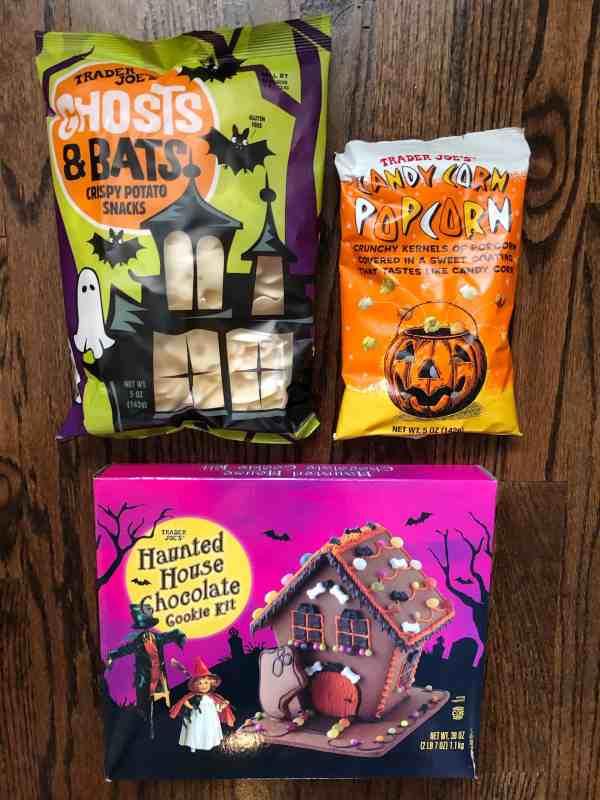 Halloween Food Trader Joe's #snacks #party #spooky