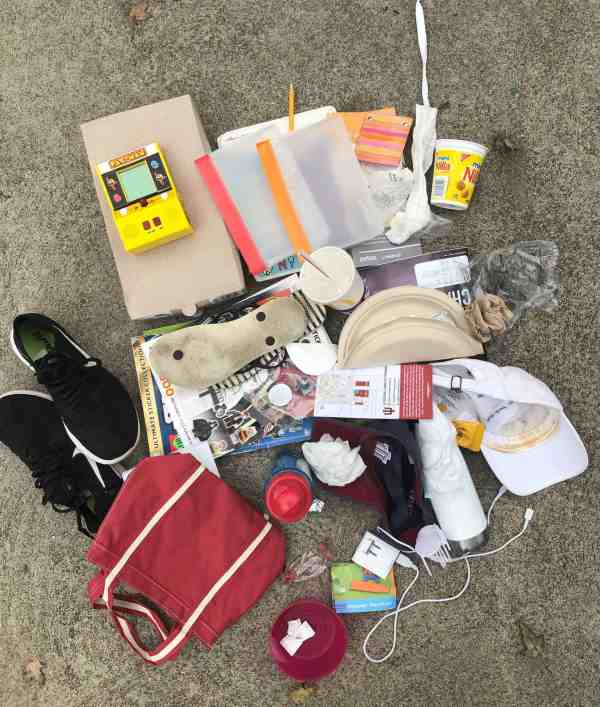 Decluttering your car #cleaningtips #beforeandafter