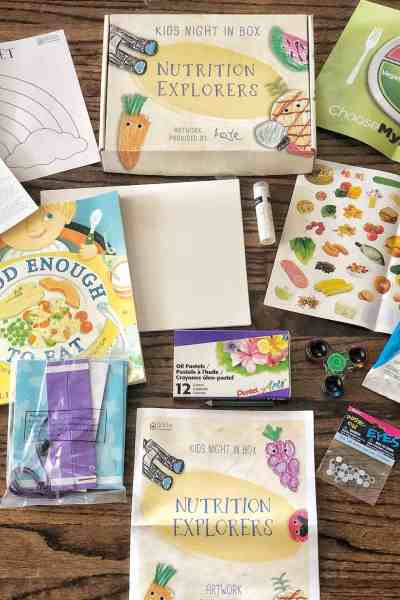 Kids Night in Box September Review #affiliate #unboxing
