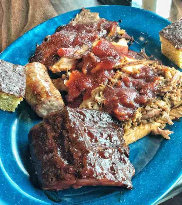 Cowboy food and Drink BBQ food #sponsored