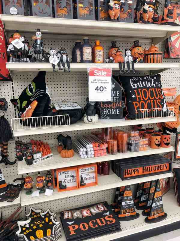 Michael's Halloween Decor #hocuspocus #blackandorange #farmhouse