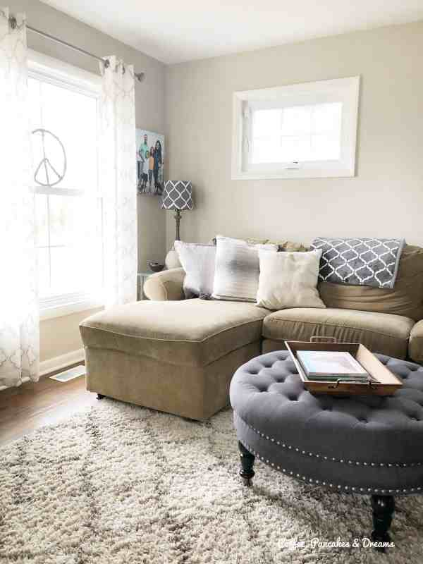 Clear the Clutter Living Room Organization