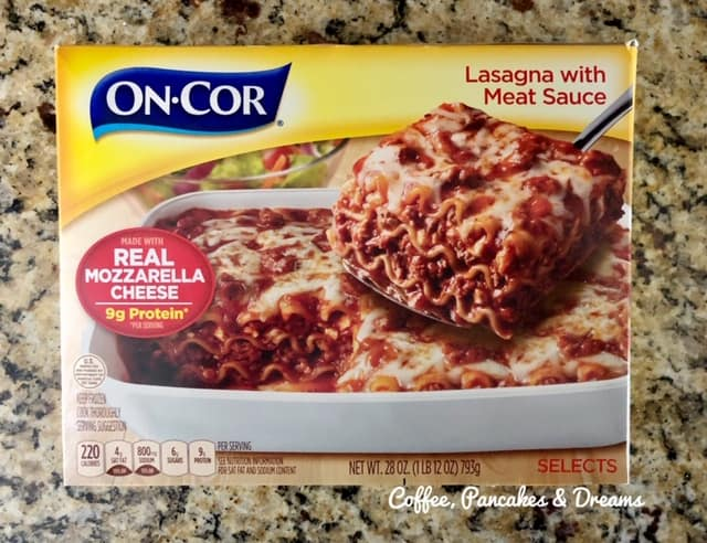 Deep Dish Lasagna Pizza Recipe with On-Cor
