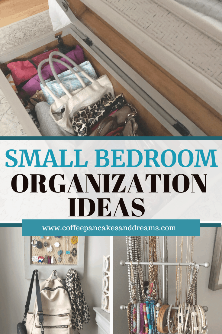 Small bedroom ideas that are stylish and functional #organization #storage #masterbedroom