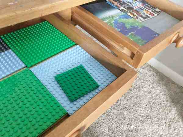 How to organize Legos #simple #easy #kids