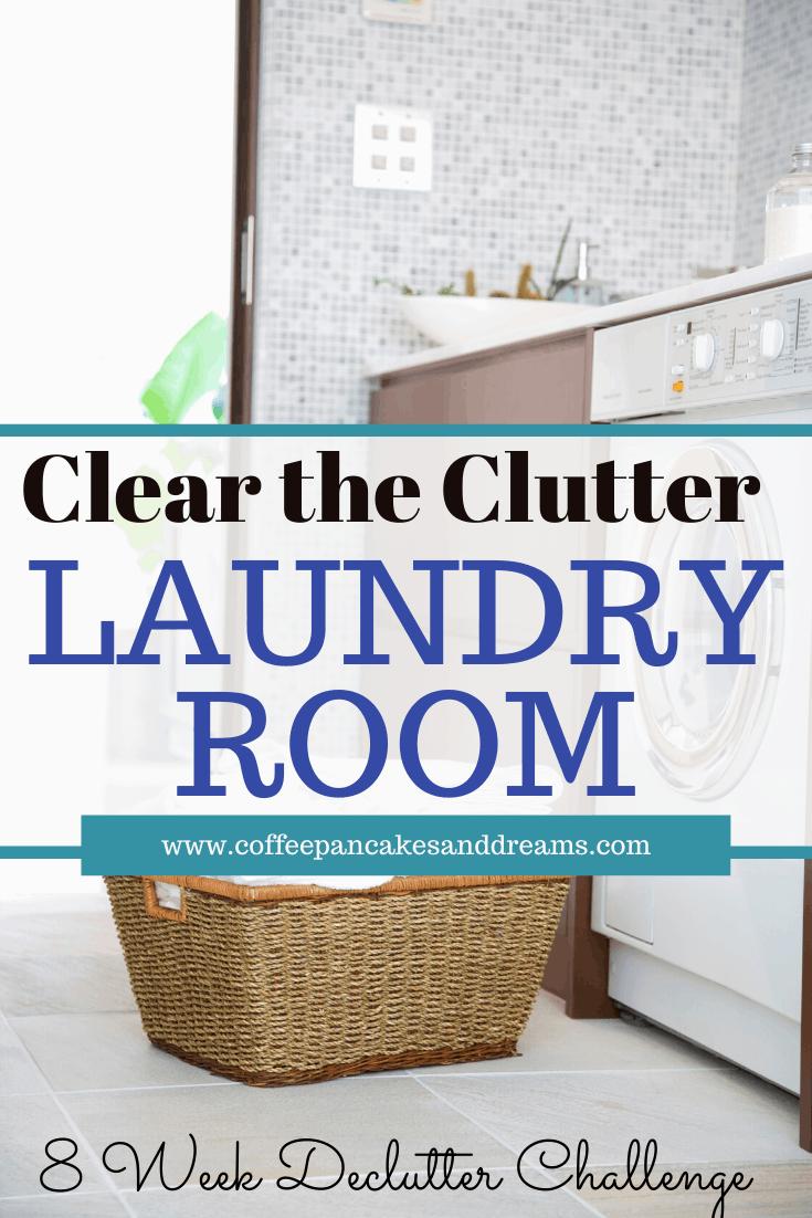 Laundry Room Organization Checklist #declutter #small #organization #diy