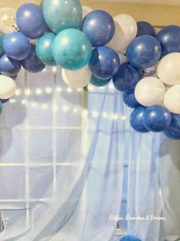 $15 balloon garland DIY