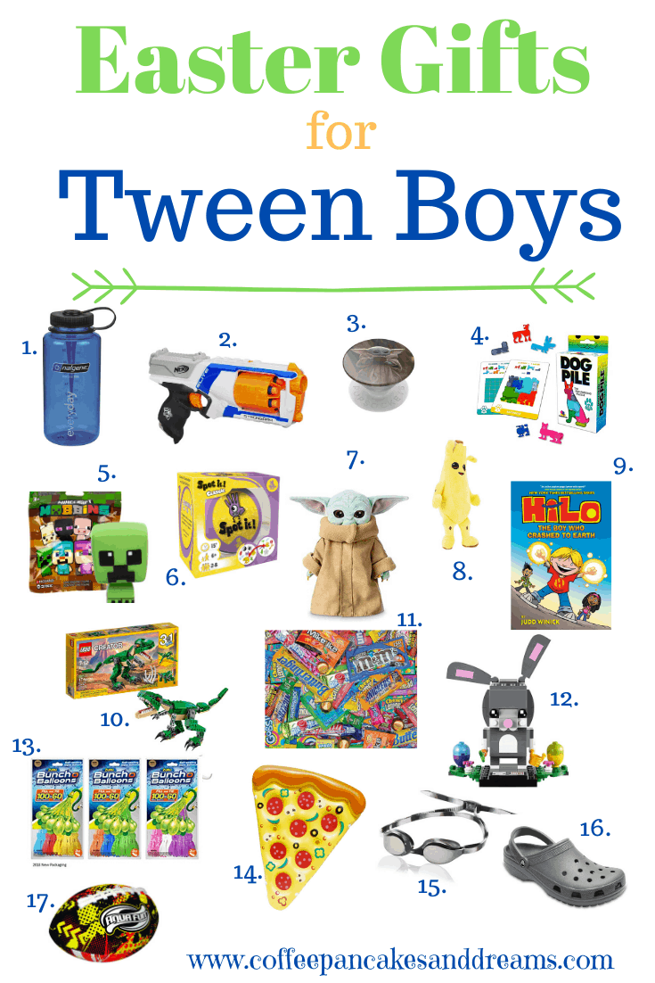 Easter gifts for tween boys