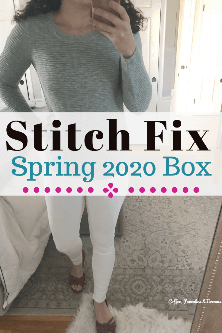 April Stitch Fix Unboxing 2020