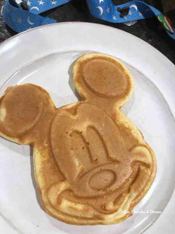 how to make disney waffles