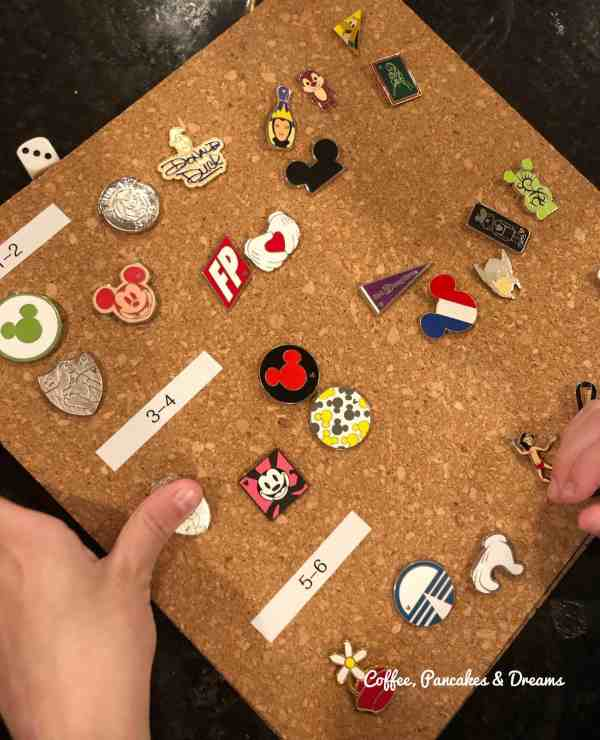 Disney Pin Trading with kids