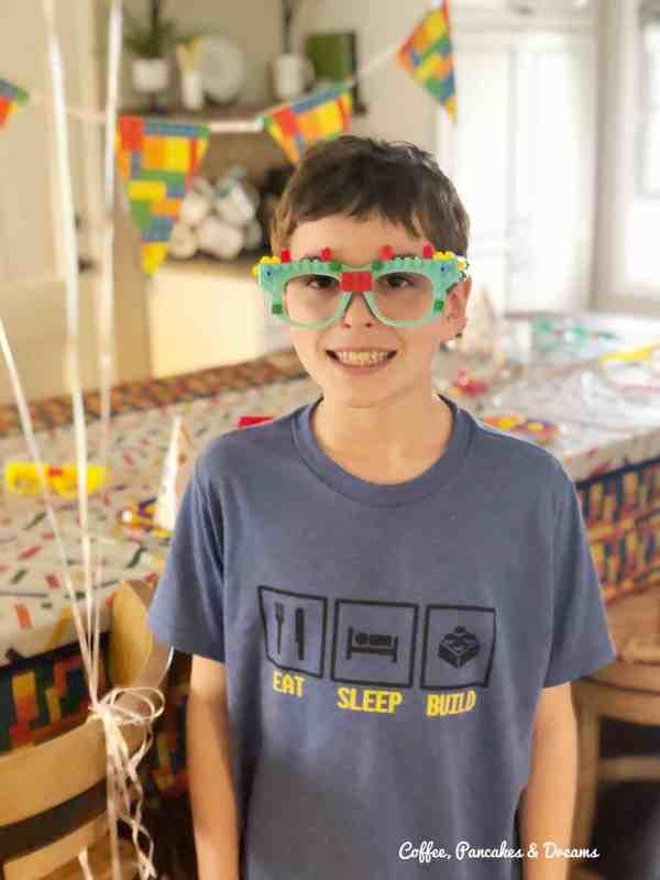 11th birthday lego party