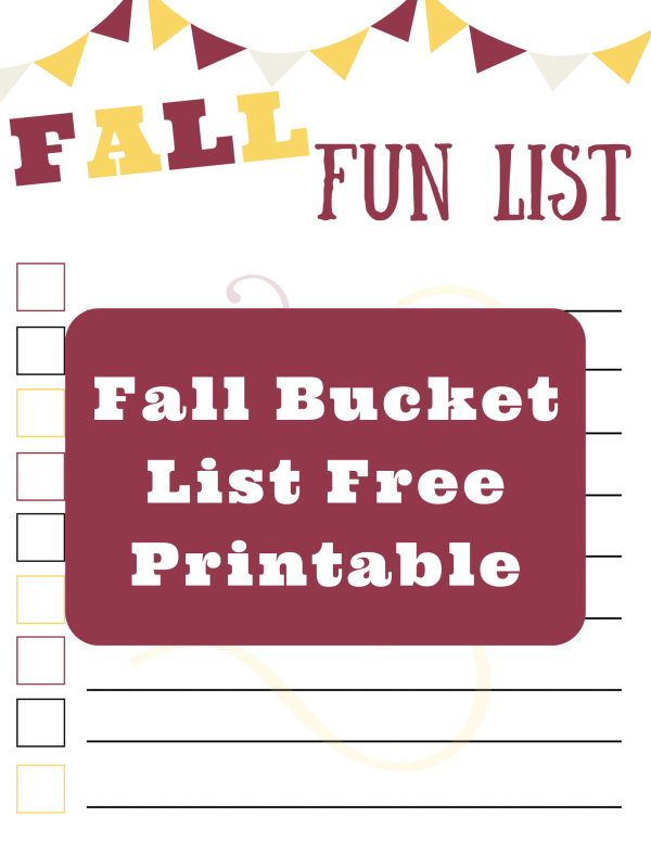 25 Fall Activities to do with family