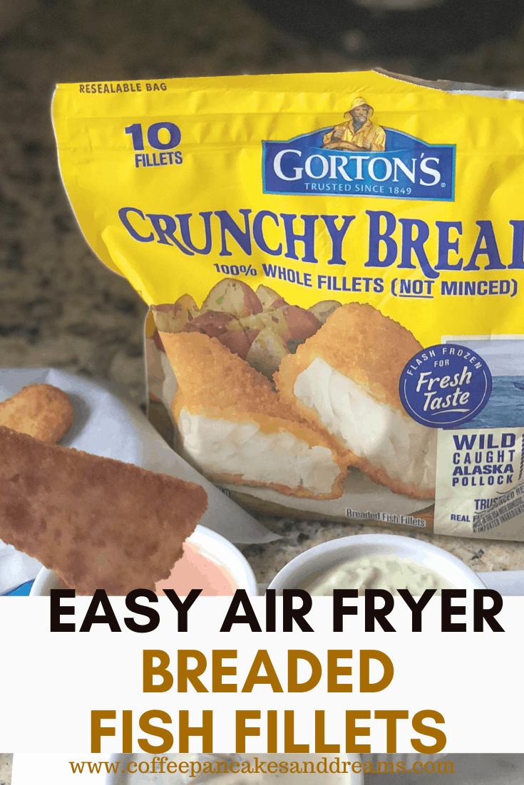 Air Fryer Frozen Fish Fillets #sponsored #gortons #easy #weeknightmeal