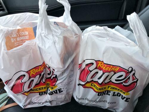 Raising Cane's family combo pack #ad #cleveland #ohio