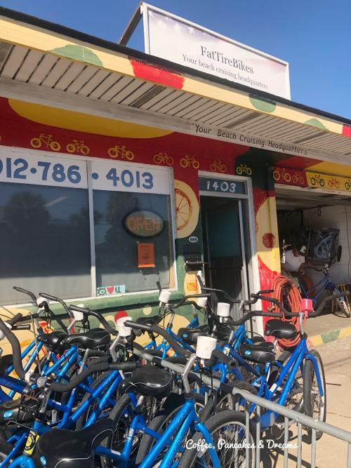 Where to rent bikes on Tybee Island