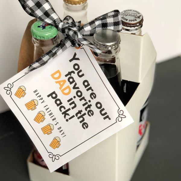 Fathers Day Rootbeer Gift Idea for Dad