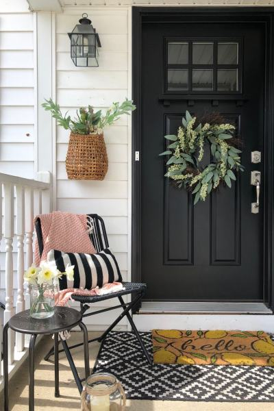 Small Front Porch Decor Ideas
