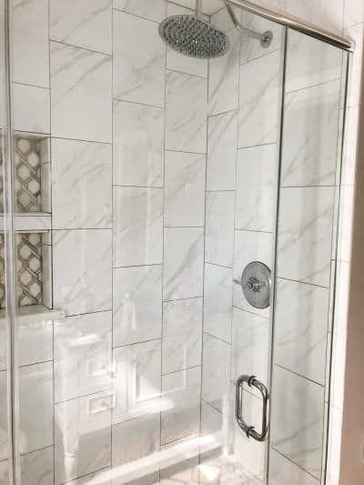 how to clean my glass shower doors