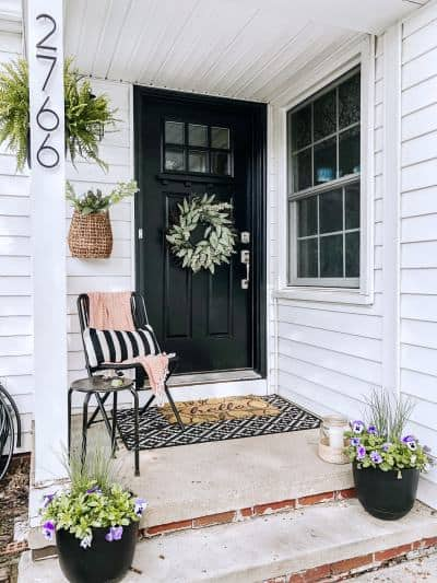 Summer Front Porch Decor Ideas