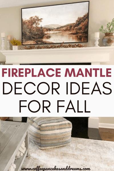 Fireplace Mantel Decor Ideas for Fall
