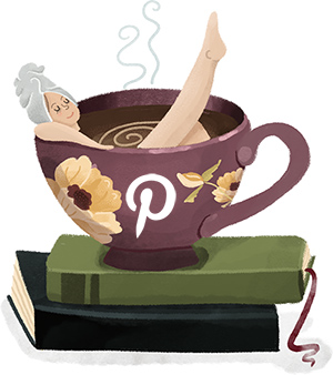 Coffee and Pixels on Pinterest