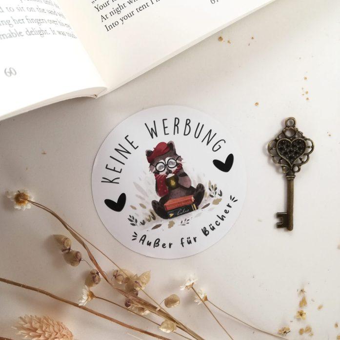 Briefkastenaufkleber Bücher