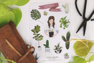 Plant Lady Stickersheet