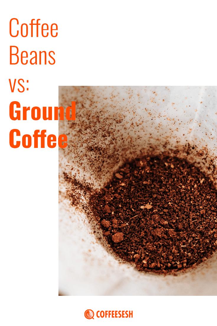 Coffee comparison: Coffee Beans vs Ground Coffee