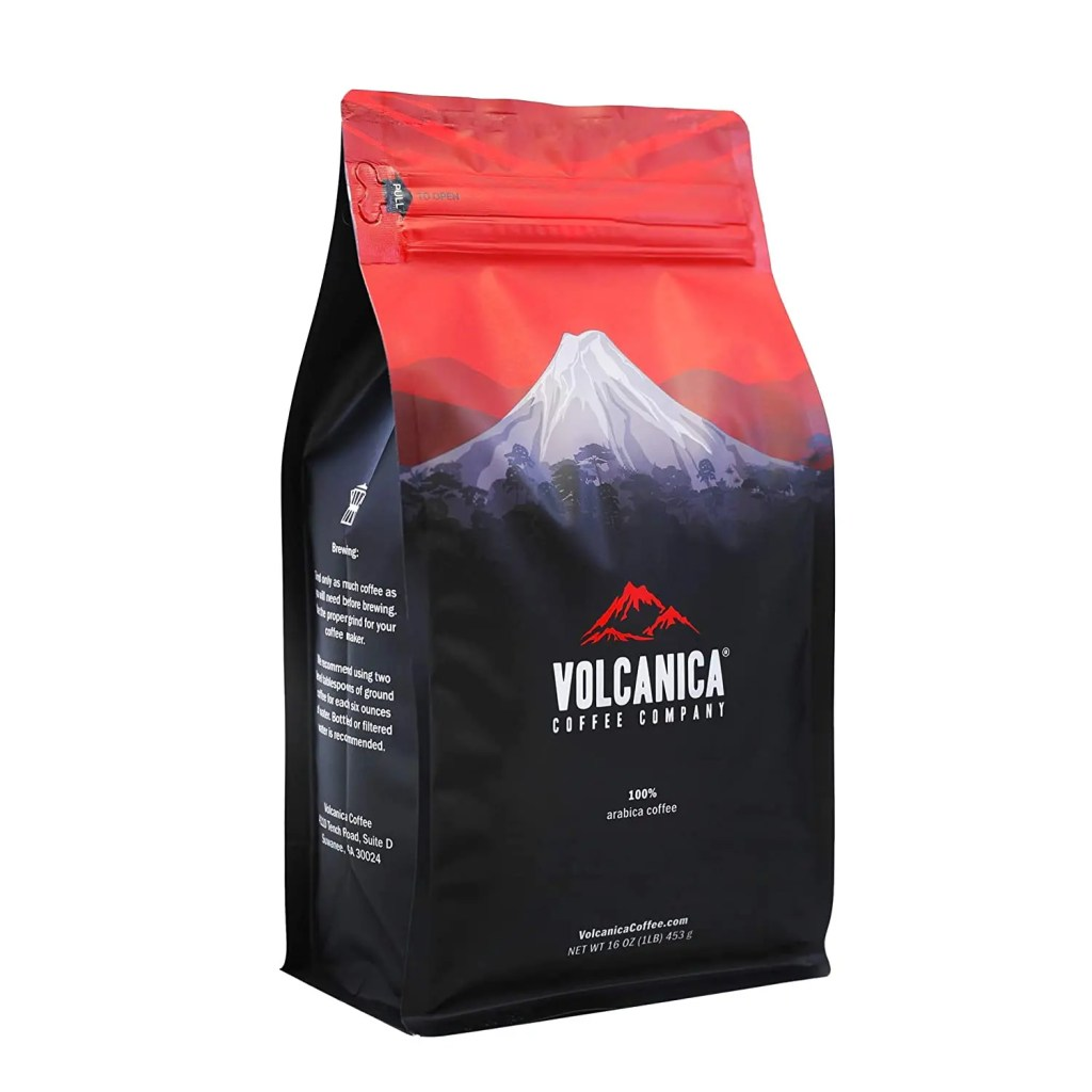 volcanica coffee package