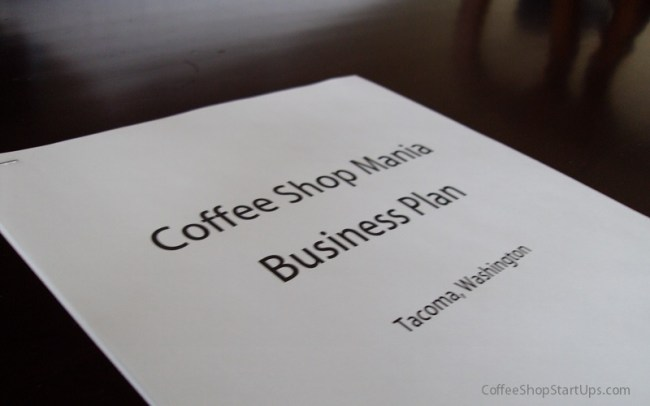 Coffee Shop Business Plan, Business Plan