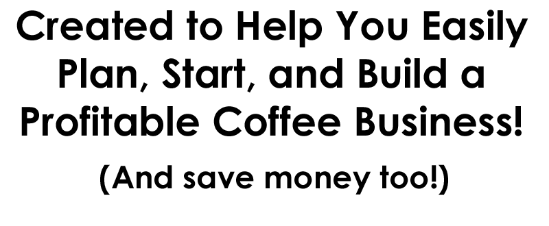 start a coffee shop business, how to make money with a coffee stand, how to open a drive thru stand