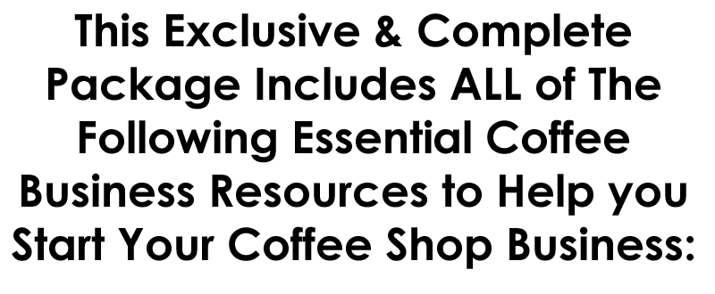 start your coffee shop business, how to open a coffee shop, the best way to open a coffee shop, how to open a drive through stand