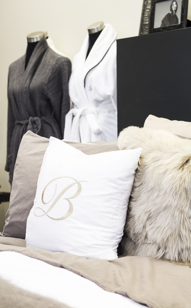 Balmuir fall winter 2015 bed linen showroom Lauttasaari
