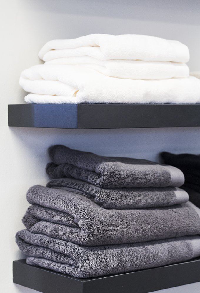Balmuir towels showroom Helsinki Lauttasaari